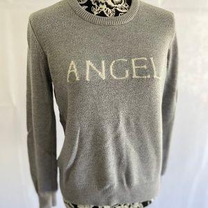 Victoria's Secret Angel grey sweater Size medium